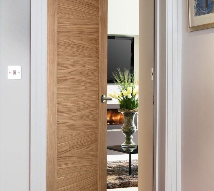 Interior Contemporary Doors Of Sienna Natural Oak Style Door