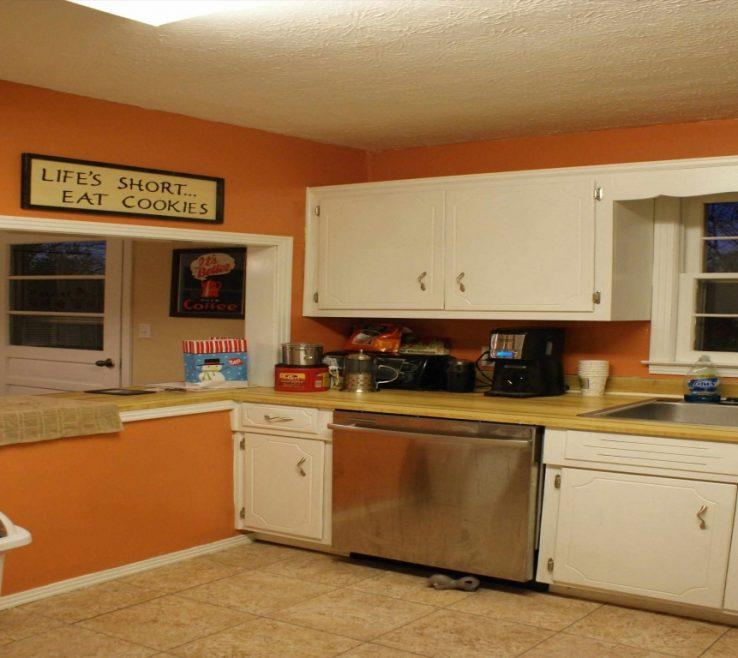 Interior Design For Orange Kitchen S Of Color Burnt