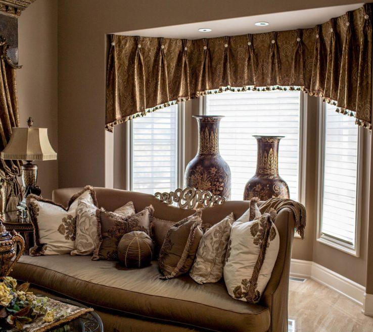 Interior Design For Window Treatment Ideas For Living Room