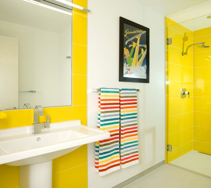 Interior Design For Yellow Bathrooms