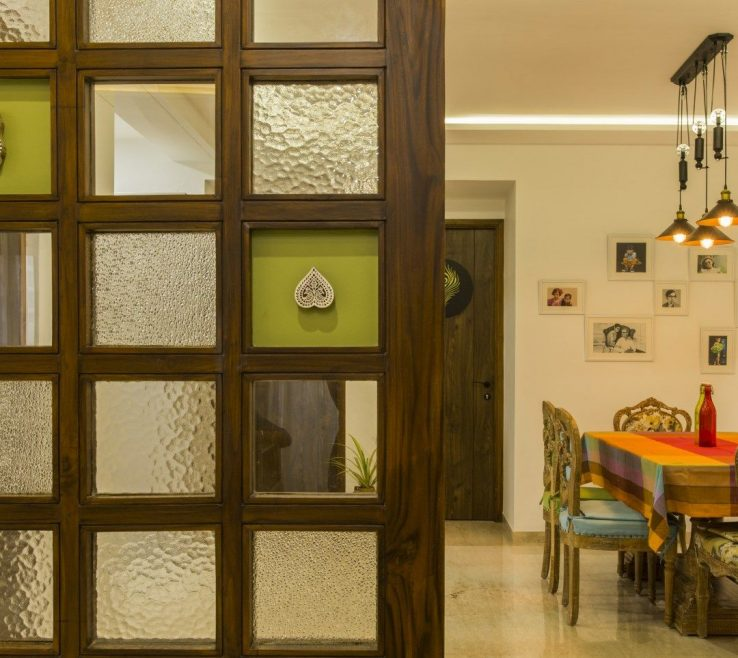 Interior Partitions For Homes Of Fusion Of Modern And Traditional E |