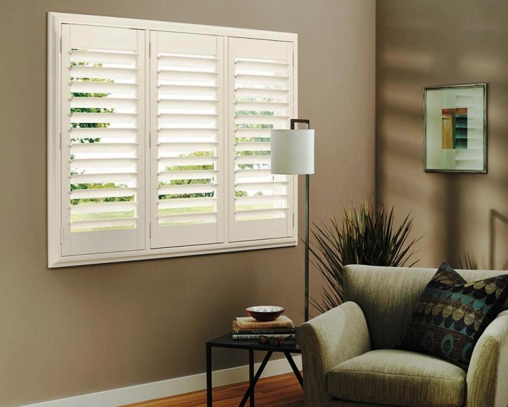 Decorative Indoor Window Shutters: Interior Wall Window Of Decorative Shutters Decorative