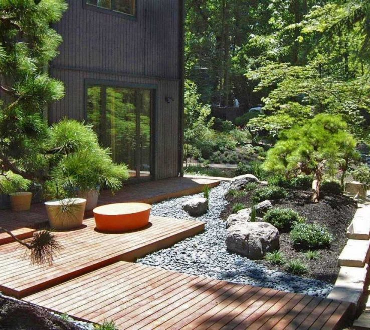 Japanese Garden Ideas Of Photo Gallery Of The Decorating