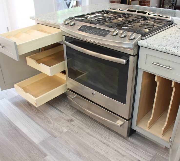 Kitchen S For Storage Of Photo Of With A Spice Drawer Tray