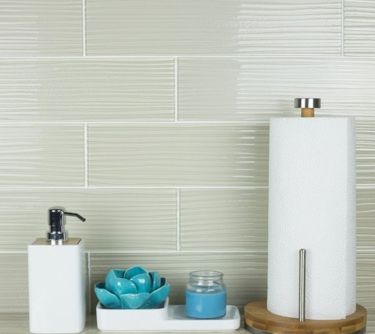 Likeable Glass Floor Tile Bathroom Of Crystile Wave Series