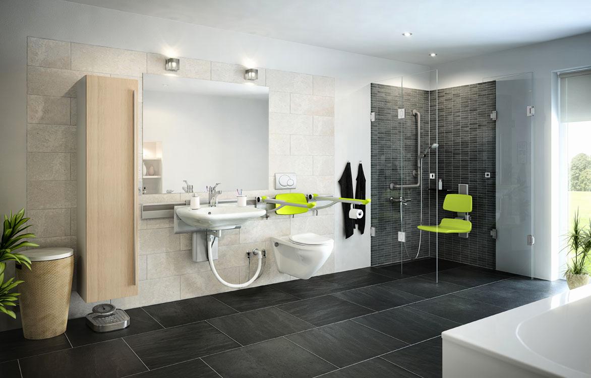 Likeable Handicap Accessible Bathroom Design Ideas Of ...