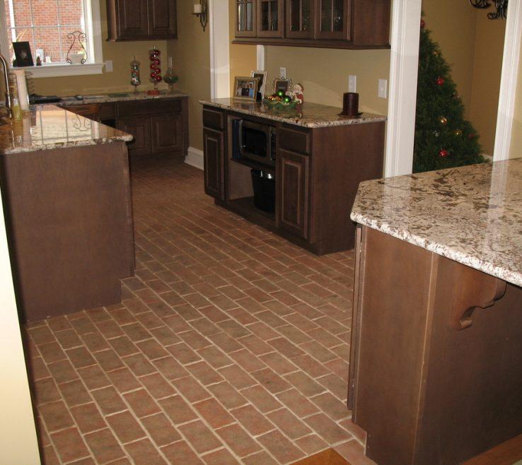 Likeable Tile Floor Designs For Kitchens Of Inglenook Brick Tiles Brick Pavers