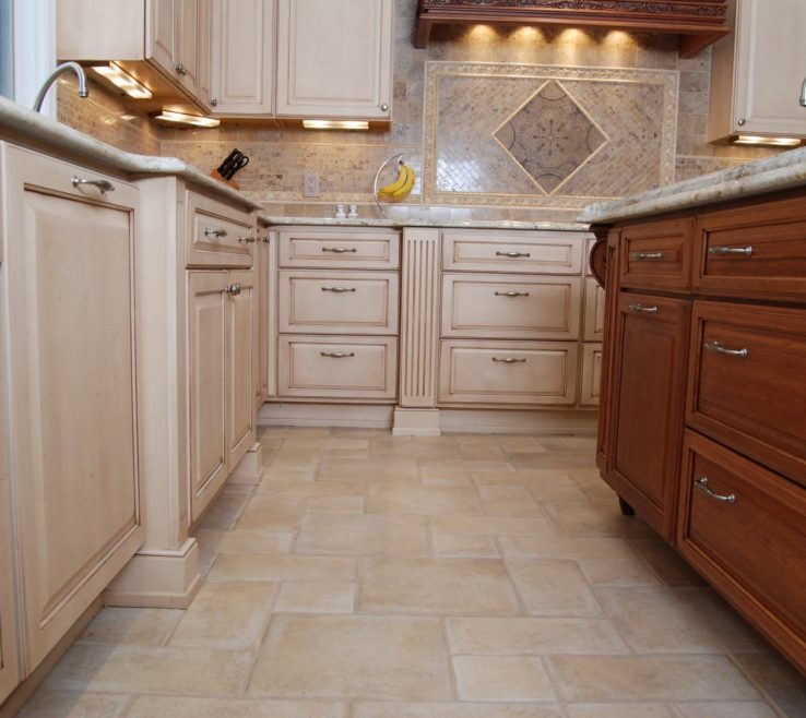 Likeable Tile Floor Designs For Kitchens Of Tile Ho