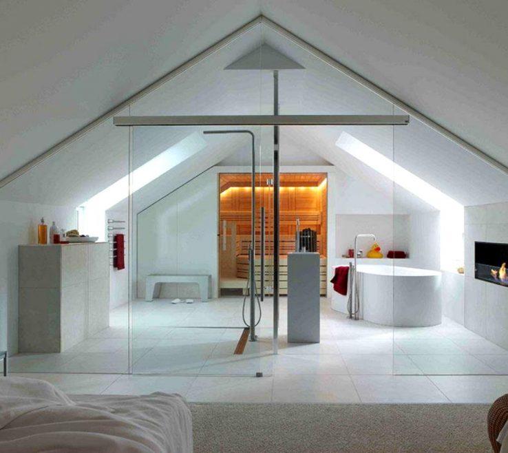 Lovely Attic Bedroom Ideas Of Contemporary