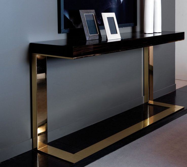 Lovely Contemporary Console Table With Drawers Of Tables Ideas