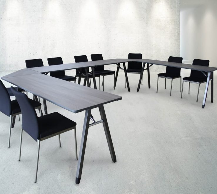 Lovely Designer Folding Tables Of Meeting Andamp Chairs