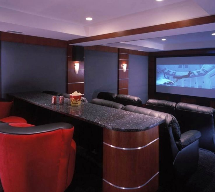 Lovely Ideas For Theater Room Of Photo Of Sweet Awesome Cool Movie