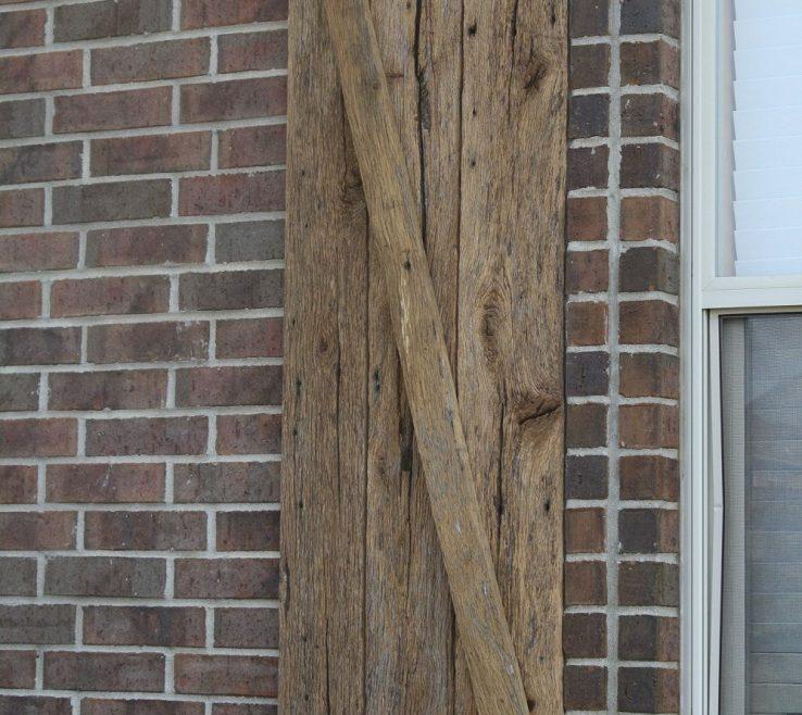 Lovely Rustic Wood Shutters Of Barn Window