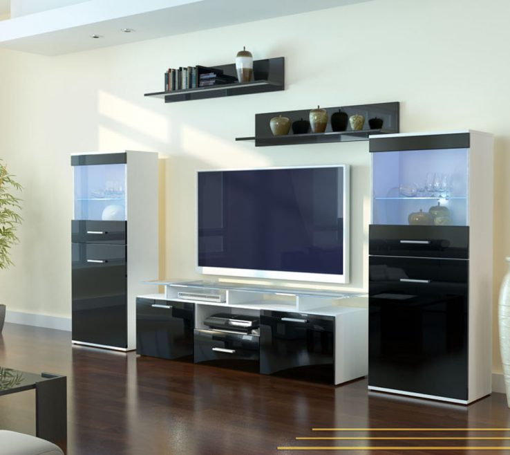 Lovely Wall Unit Designs For Small Living Room Of Tv Design Hall Modern Tv Design