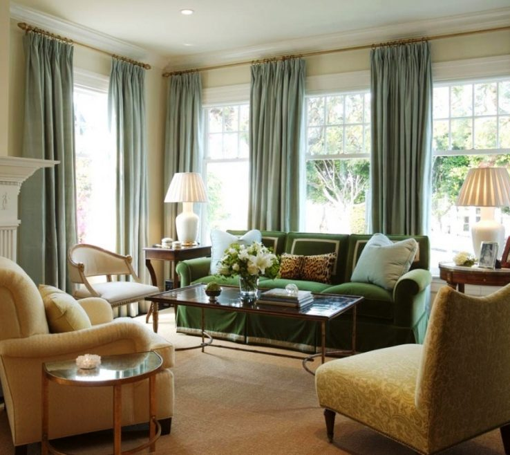 Lovely Window Treatment Ideas For Living Room Of Curtain And Tips Interior Design | Home