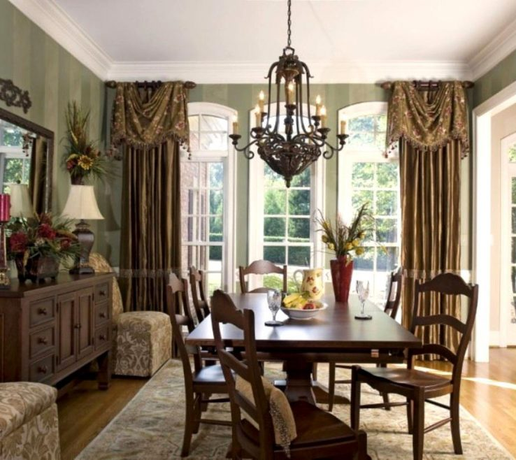 Magnificent Dining Room Window Treatment Ideas Of Delightful Chandeliers Classic Interior Hairs And Simple