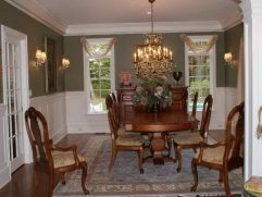 Dining Room Window Treatment Ideas