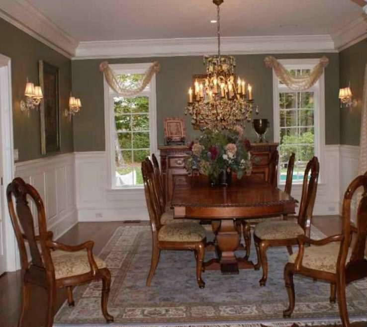 Magnificent Dining Room Window Treatment Ideas Of For Room, Formal