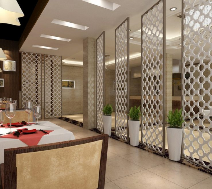 Magnificent Interior Partitions For Homes Of About Designs Home Trends Including Restaurant Dividers