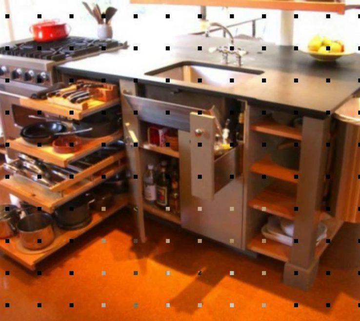 Magnificent Space Saver Kitchen Design
