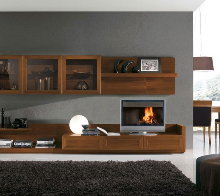 Magnificent Wall Unit Designs For Small Living Room Of Tv Valid Modern