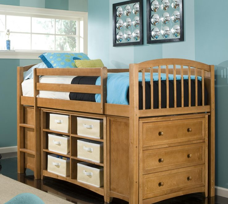 Mesmerizing Childrens Storage Beds For Small Rooms Of Loft Bunk Bed With 2939 X