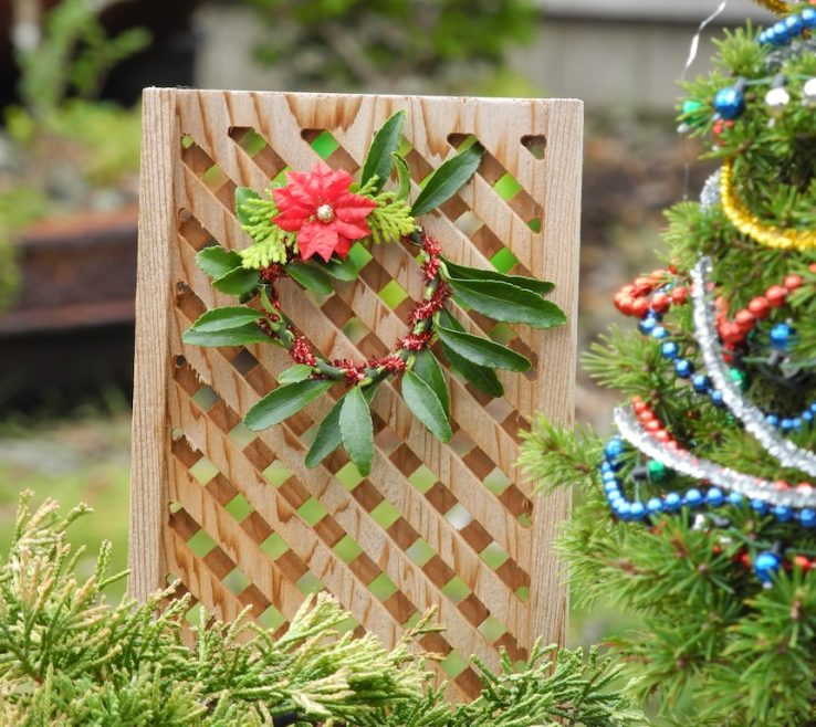 Mesmerizing Homemade Garden Decorations Of Diy Christmas Decor For The Miniature