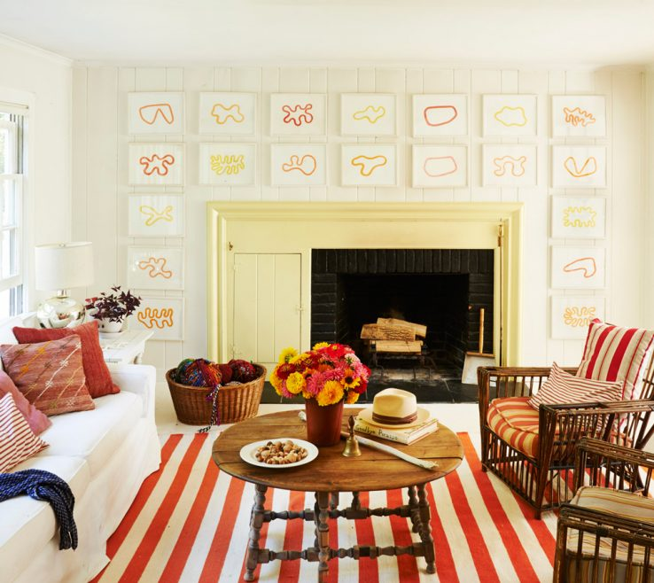 Mesmerizing Red And Yellow Decor Of In Brilliant Hues Like These, Even Small