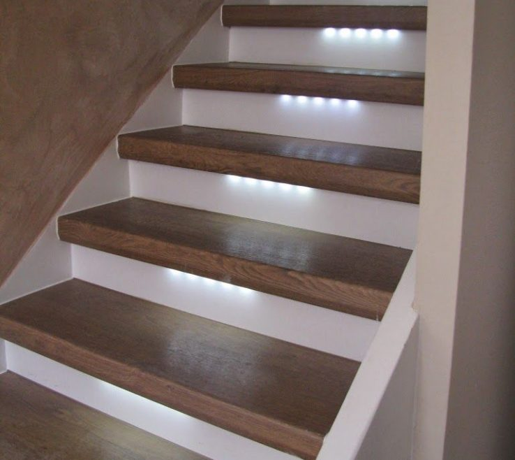 Modern Staircase Lighting Of Lights Stairs Ideas #stairways #stairs #staircases #homedecor