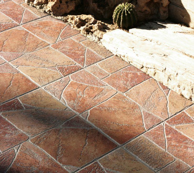 Outdoor Floor Design Of Tiles