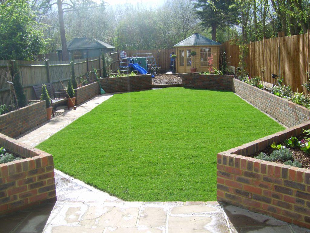 Outdoor Playground Flooring Ideas Of Family Garden Design Uk