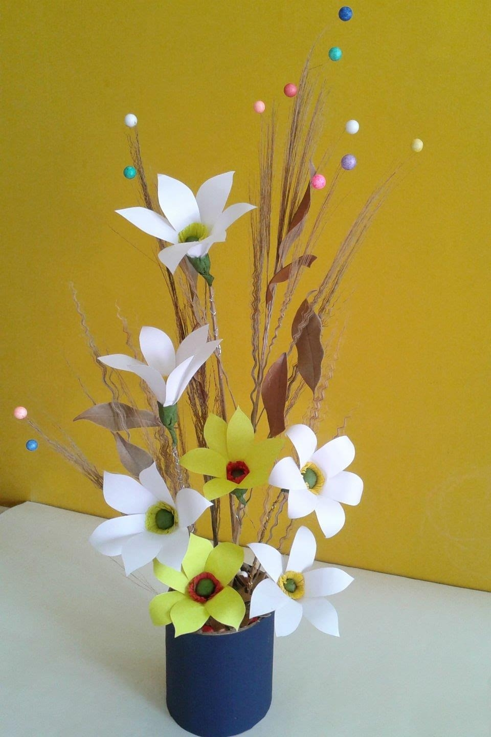 Picturesque Craft Ideas For Home Decor Of Diy Paper Crafts