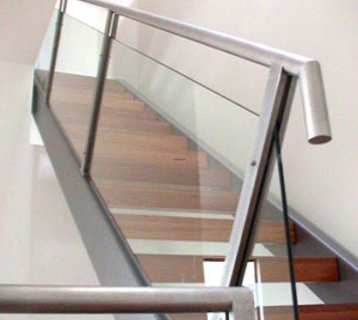 Picturesque Indoor Stair Railing Pictures And Ideas Of Image Of: Contemporary Designs