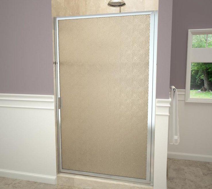 Picturesque Wood Shower Door Of Redi Swing V Series In W X