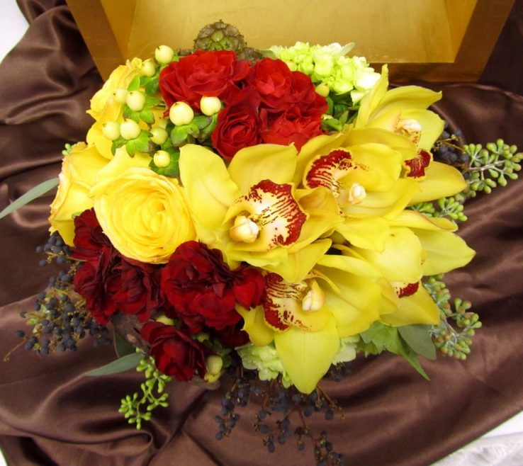 Red And Yellow Decor Of Epic Wedding Flowers 78 Wedding Decoration