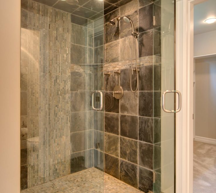 Remarkable Modern Bathroom Showers Of Interesting Glass Shower Design For Decoration