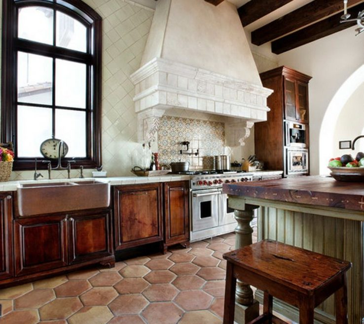 Remarkable Spanish Decor Ideas Of Great Colonial Kitchen Decorating