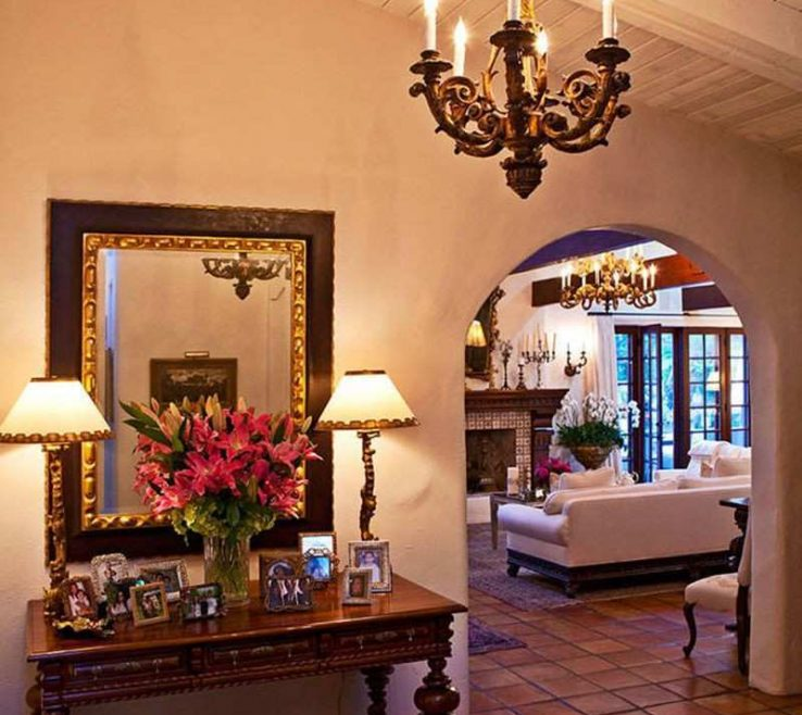 Remarkable Spanish Decor Ideas Of Hacienda Style Decorating