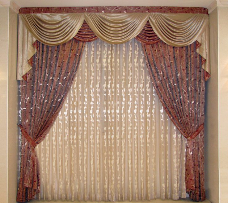 Remarkable Ual Window Treatments Of Chic Superblied To Your E Inspiration: Curtain