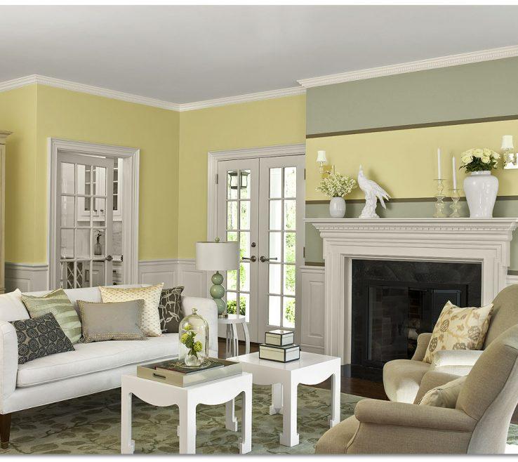 Room Color Inspiration Of Benjamin Moore Warm Cozy Living Room