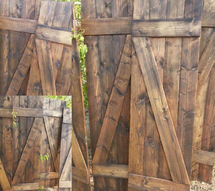 Rustic Wood Shutters Of Luxury Shutter Z Bar 60 Wooden Barnwood
