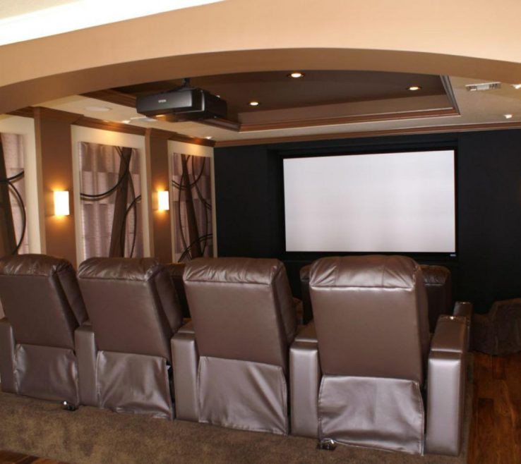 Sophisticated Ideas For Theater Room Of How To Build A Home