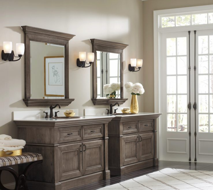 Sophisticated Unique Bathroom Vanity Mirrors Of Full Size Of Bed & Bath, Double