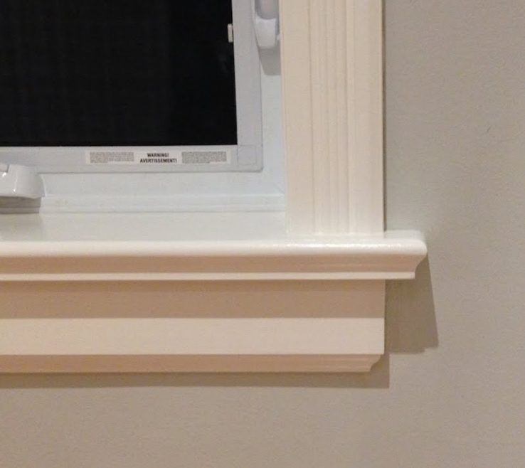 Sophisticated Window Sill Ideas Of How To Make Sills & Aprons