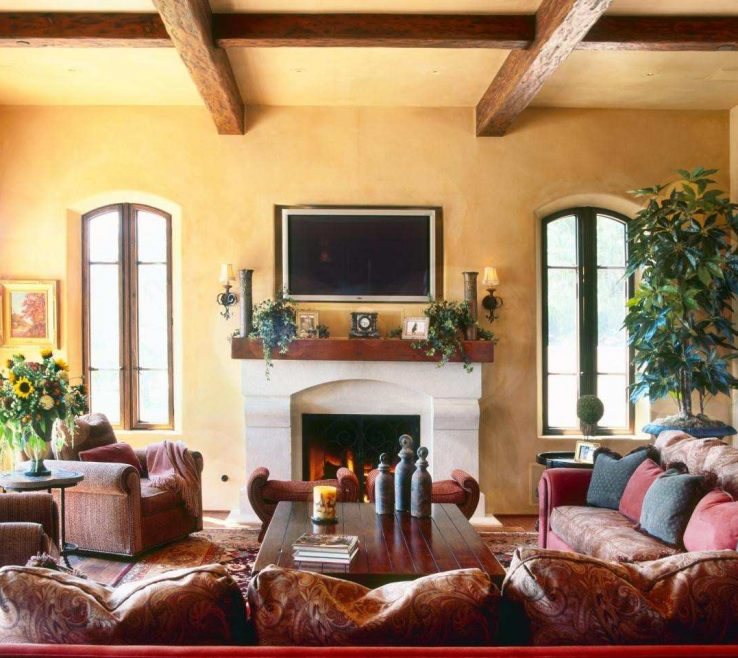 Spanish Decor Ideas Of Incridible Decorating Style 16