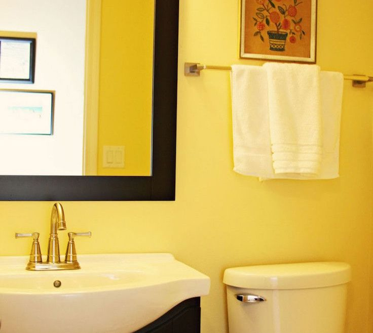 Superbealing Yellow Bathrooms Of Bathroom