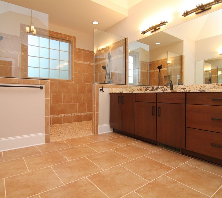 Terrific Handicap Bathroom Design Of This Master Bath Is Full Of Modern