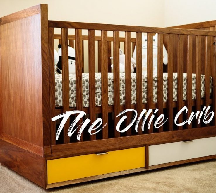 Terrific Mid Century Modern Baby Crib Of Diy || How To Build Woodworking
