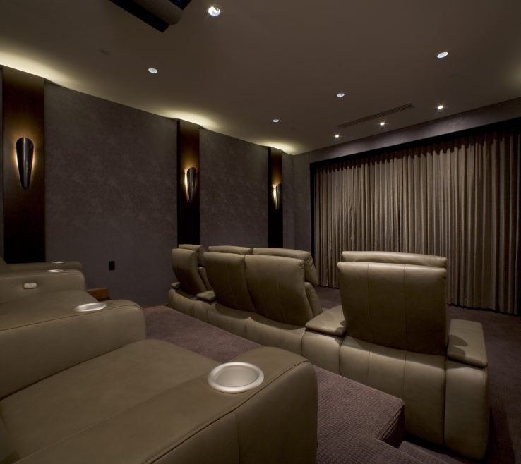 Unique Ideas For Theater Room Of Brilliant Small Home Best Choice Of 33