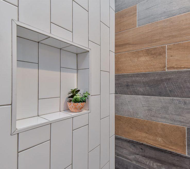 Vanity Bathroom Tile Designs Of Trends